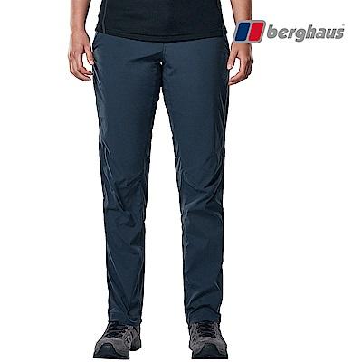 【Berghaus貝豪斯】女款輕量彈性長褲S07F06-藍
