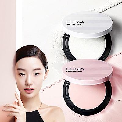 (即期品)韓國LUNA HD柔焦高光感蜜粉餅(珍珠白)-7gX2入組