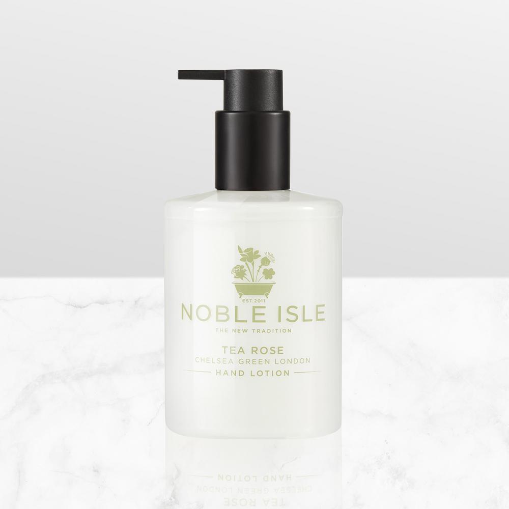 NOBLE ISLE 茶玫瑰抗老護手精華乳 250ML
