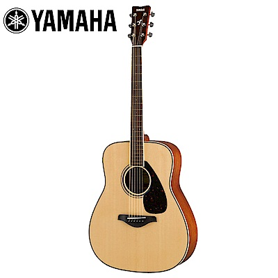 [無卡分期-12期] YAMAHA FG820 NT 面單民謠木吉他 原木色款
