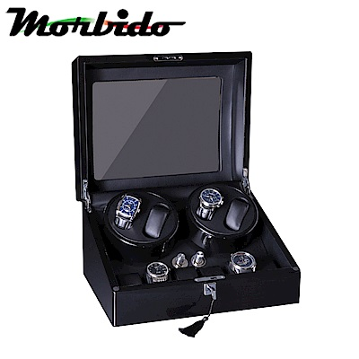 Morbido蒙彼多搖錶器 自動機械錶收藏盒/自動上鍊盒(4+6只入)
