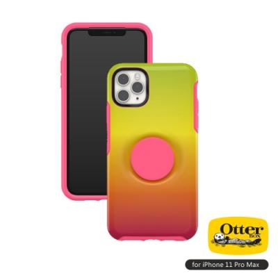 OtterBox Otter+Pop iPhone 11 Pro Max(6.5吋)專用 防摔吸震保護殼-Symmetry炫彩幾何泡泡騷系列■彩虹
