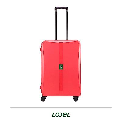 LOJEL OCTA2 26吋拉桿箱 紅色 PP材質 框架 密碼扣鎖
