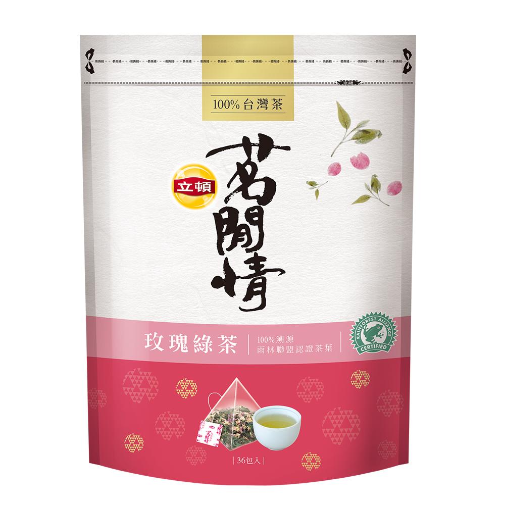 立頓 茗閒情玫瑰綠茶 (36入/包)
