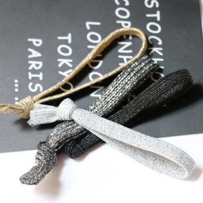 Hera 赫拉 日韓高彈力亮麗禮物帶髮繩-4色(隨機3入組)