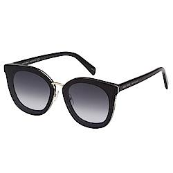 VEDI VERO 方框 平面鏡片 太陽眼鏡 (黑色)
