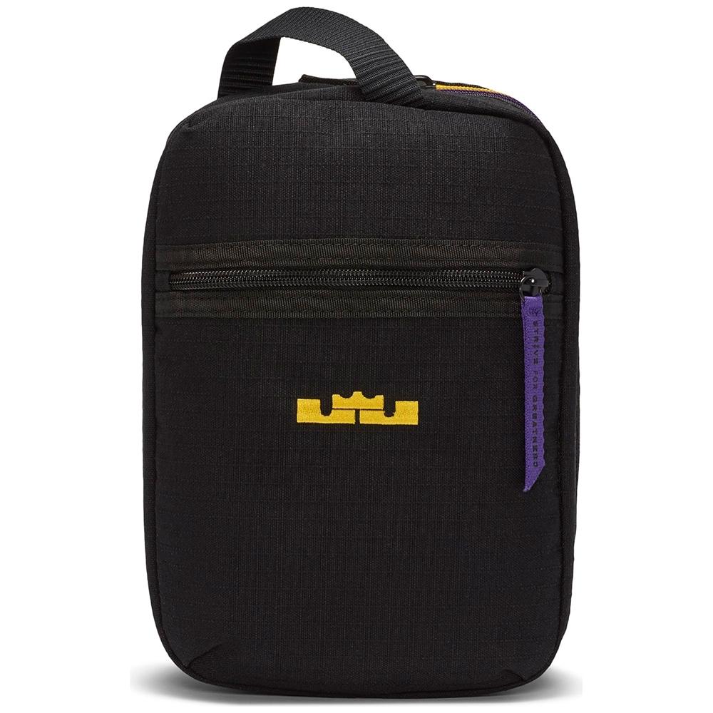NIKE 萬用包 收納包 手拿包 隨身包 小包 黑 CQ4768010 LBJ NK UTILITY BAG - HO20