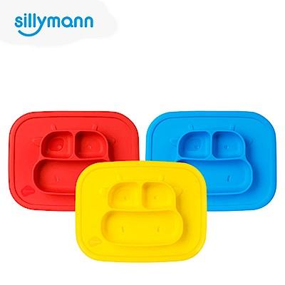 【韓國sillymann】 100%鉑金矽膠乳牛防滑餐盤(顏色任選)