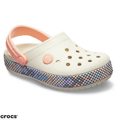 Crocs 卡駱馳 (童鞋) 卡駱班炫彩克駱格 205171-1AS
