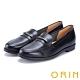 ORIN 金屬飾條牛皮樂福鞋 黑色 product thumbnail 1