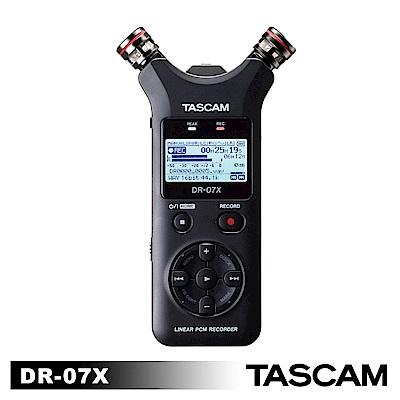 【日本TASCAM】 攜帶型線性PCM錄音機 DR-07X