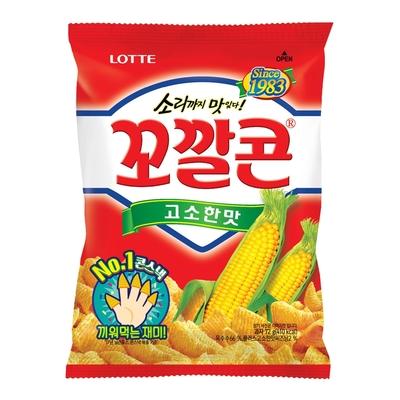 Lotte樂天 玉米脆角-原味(72g)