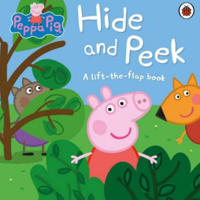 Peppa Pig:Hide And Peek 佩佩豬躲貓貓精裝硬頁翻翻書