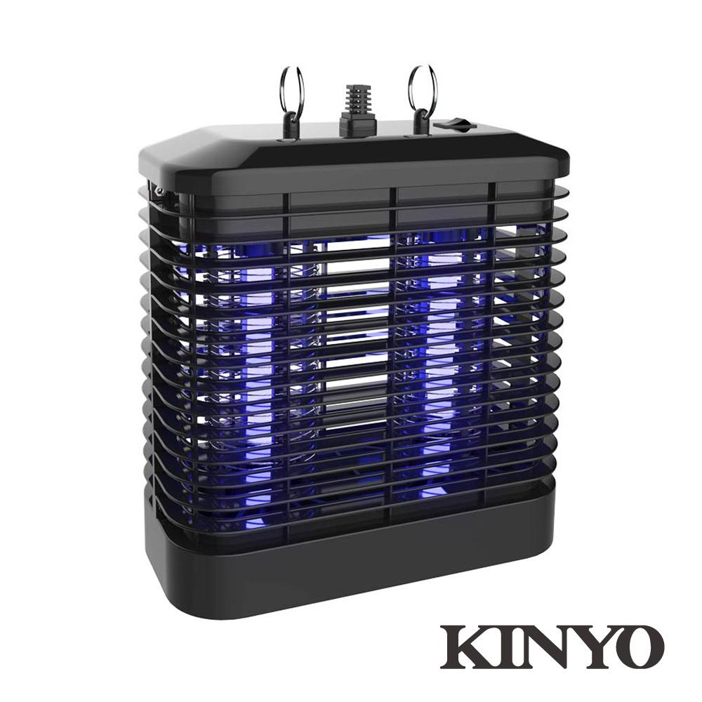 KINYO強力8W電擊式UVA燈管捕蚊燈KL7081