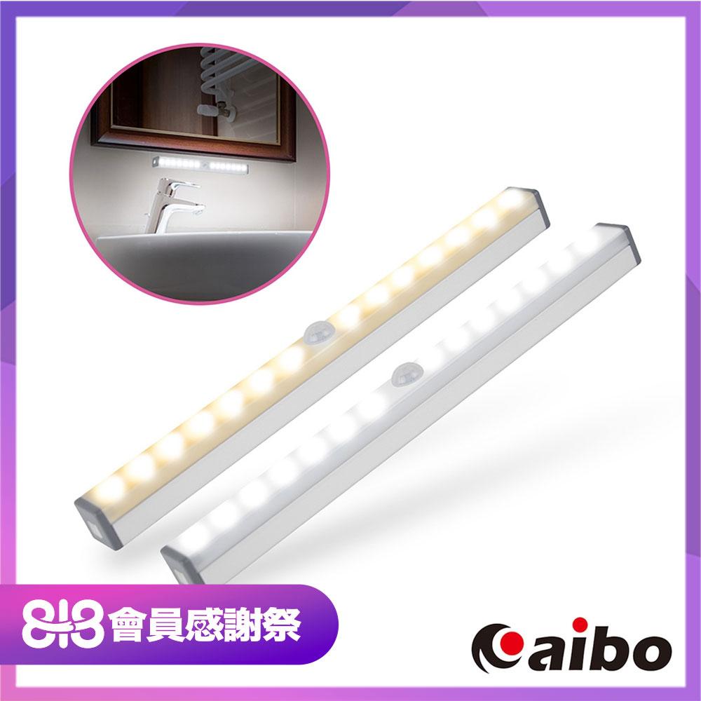 時時樂-aibo USB充電磁吸式 21cm輕巧LED感應燈管(LI-22S)