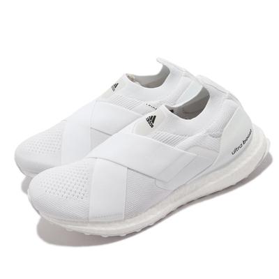adidas 慢跑鞋 Ultraboost Slip On 女鞋 愛迪達 襪套 避震 包覆 馬牌底 運動穿搭 白 GX5083