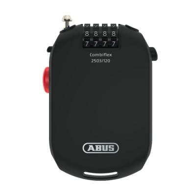 德國 ABUS 安全防盜鎖 CombiFles 2503 / 120cm 安全帽鎖 密碼鎖