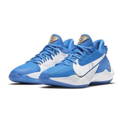 NIKE 籃球鞋 明星款 字母哥 包覆 緩震 大童 女鞋 藍 CZ4177-408 FREAK 2 SE GS