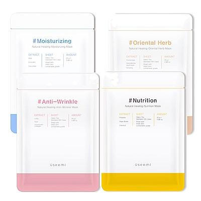 韓國 USEEMI 超潤保濕面膜 10入盒裝