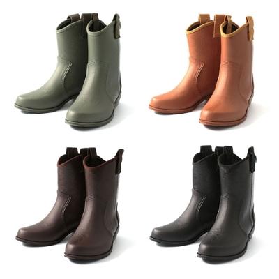 日本 Charming 個性馬靴式雨鞋