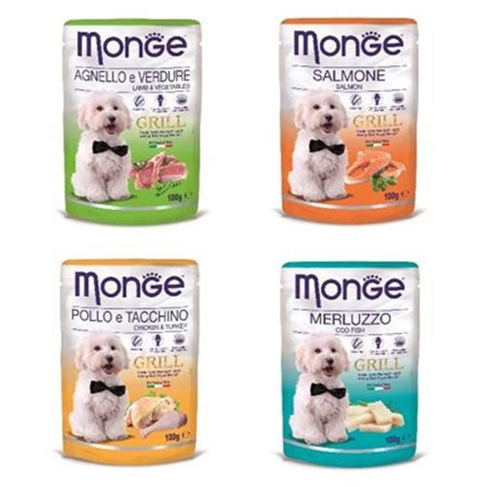 Monge Grill 炙燒無穀系列 肉塊鮮食包 100g