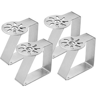 《KitchenCraft》不鏽鋼桌布夾4入(太陽)