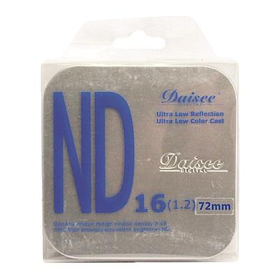 Daisee X-LR DMC ND16 72mm減光鏡