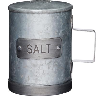 《KitchenCraft》工業風調味罐(鹽)