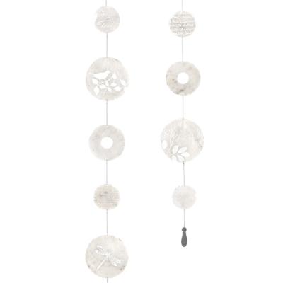 《RADER》彩繪珠光貝殼掛飾(鉛墜)