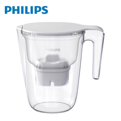 PHILIPS飛利浦 AWP2937 超濾3.4L濾水壺-白(內含1芯)