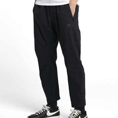 Nike NSW ME PANT WVN STMT STRT 男運動長褲-黑-927987010