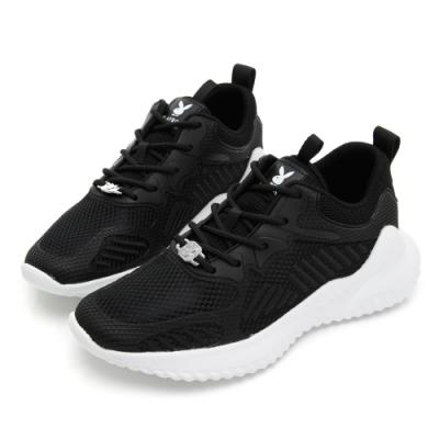 PLAYBOY 輕量漫步簡約綁帶休閒鞋-黑-Y5830CC