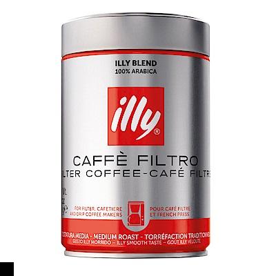 illy 中烘焙 濾泡 咖啡粉 250g