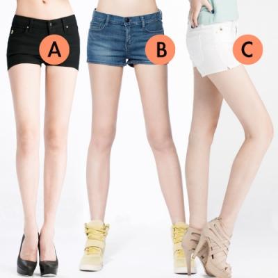 [時時樂限定]BRAPPERS 女款 顯瘦合身版短褲(三款選)