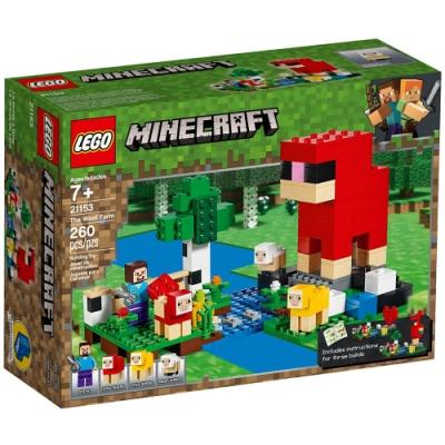 樂高LEGO Minecraft 系列 - LT21153 The Wool Farm