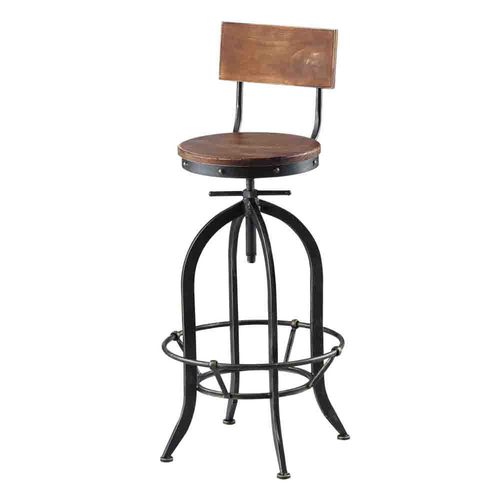 Bernice-夢特升降吧台椅/高腳椅-33x33x80cm