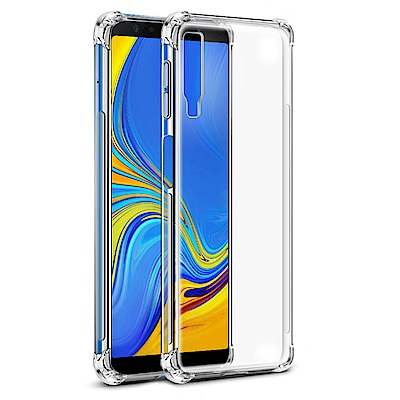 IN7  Samsung A7 2018 6吋 氣囊防摔 透明TPU空壓殼 軟殼