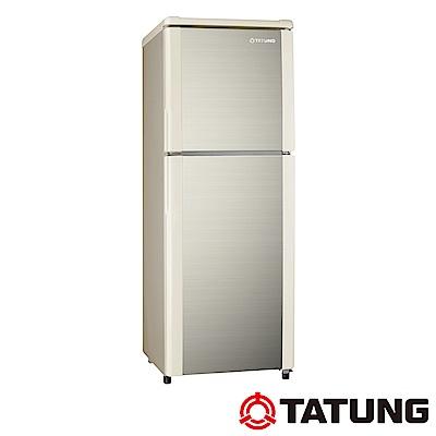 TATUNG大同 140L 2級定頻2門電冰箱 TR-B140S-AG 琥珀金