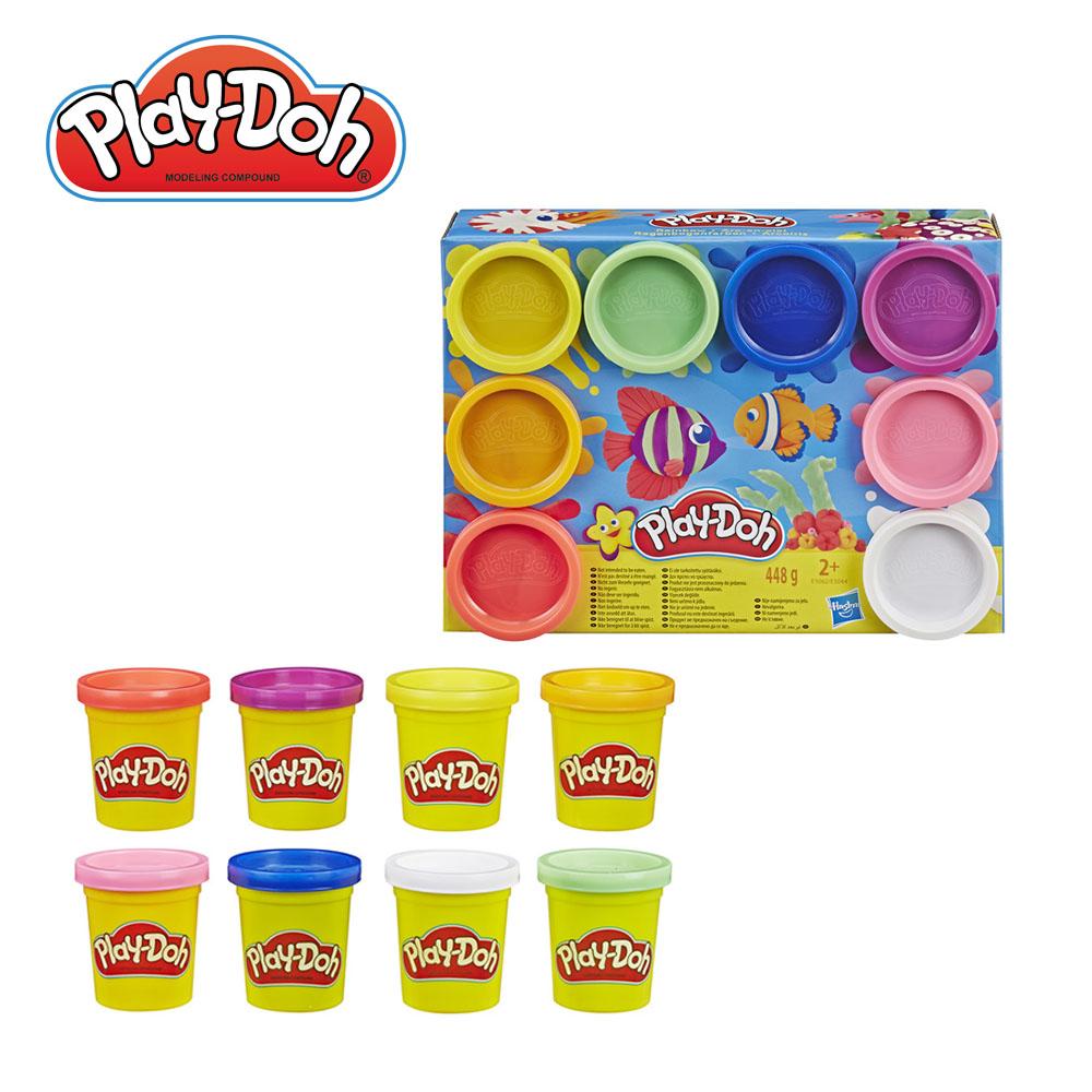 Play-Doh 培樂多-八色黏土組(彩虹/霓虹)