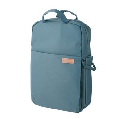 ELECOM 帆布3WAY薄型後背包OF04-青瓷綠