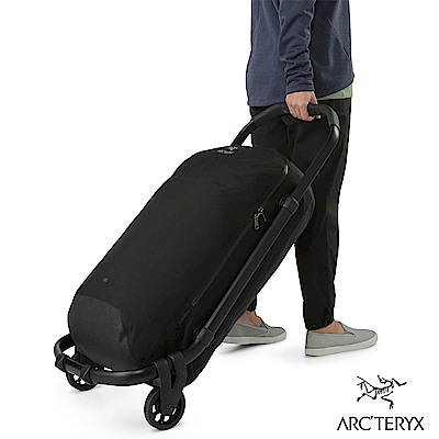 Arcteryx V80 拖輪裝備袋 黑