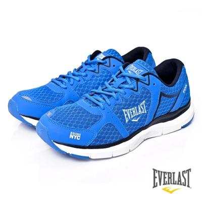【EVERLAST】LIGHT WEIGHTED輕量慢跑鞋-藍色