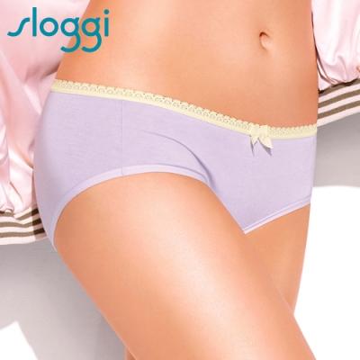 sloggi Twice as Nice溫暖擁抱系列平口內褲 M-EL 粉紫 R87-1811Z9