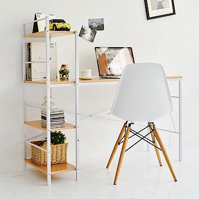 完美主義 日系層架工作桌/電腦桌/書桌(2色)-120x52x115.5cm