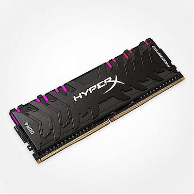 HyperX Predator RGB DDR4 2933 16G 桌上型超頻記憶體