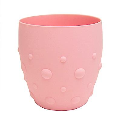 【MARCUS&MARCUS】動物樂園矽膠防滑學習杯-粉紅豬(粉)