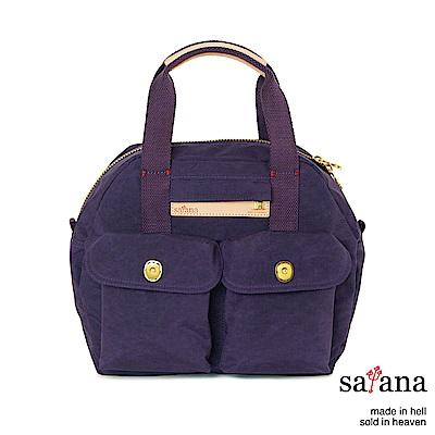 satana - Soldier 旅行後背包/保齡球包 - 紫色