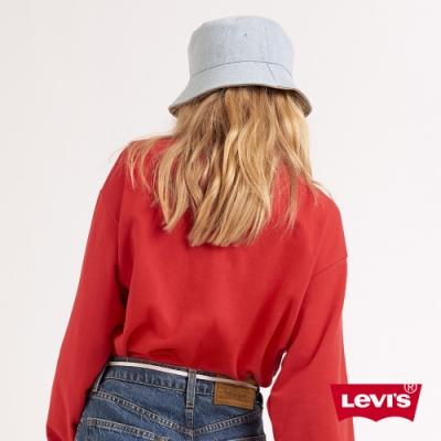 Levis 男女同款 雙面用漁夫帽 白皮牌