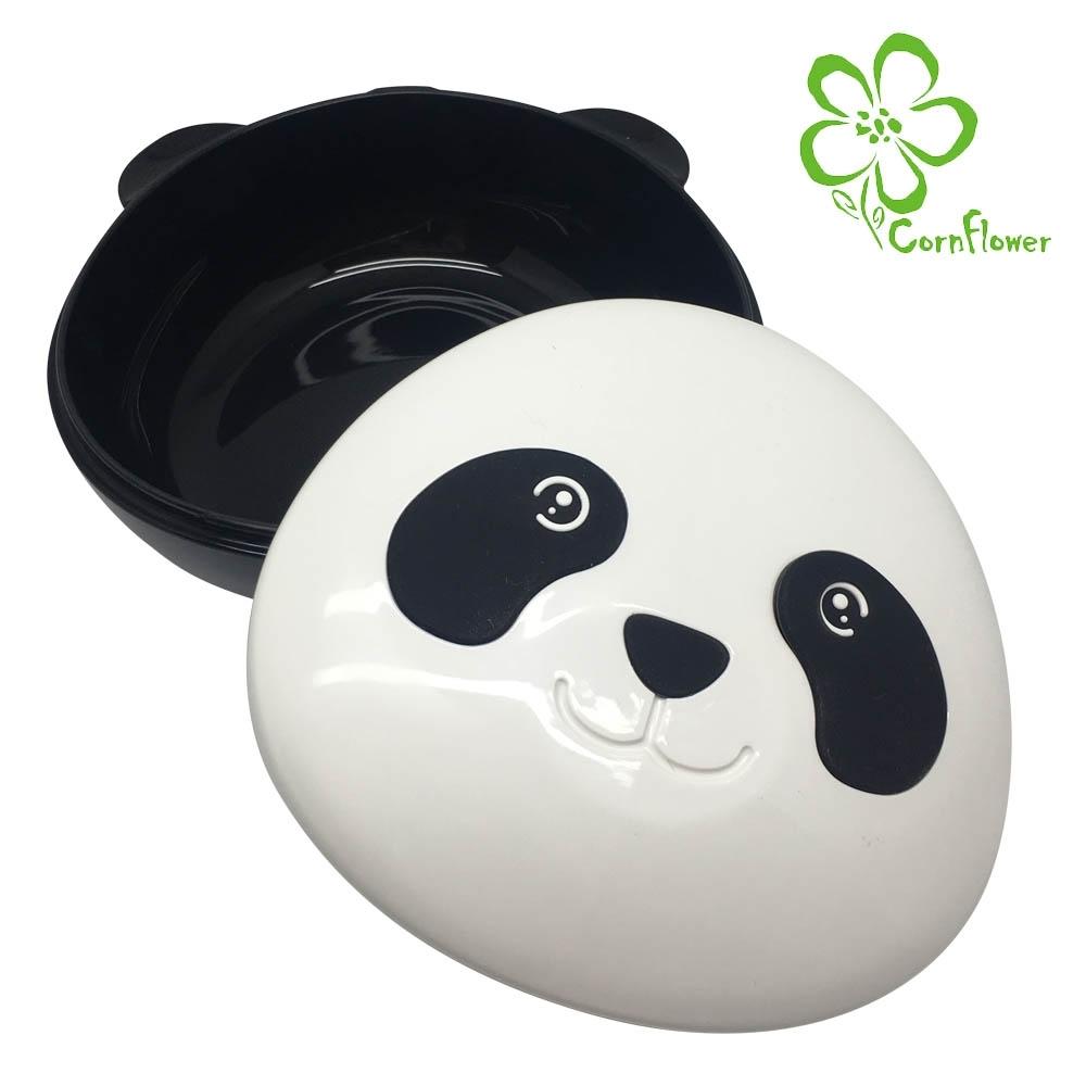Cornflower 熊貓餐盒-附贈叉匙 (無毒玉米食器)