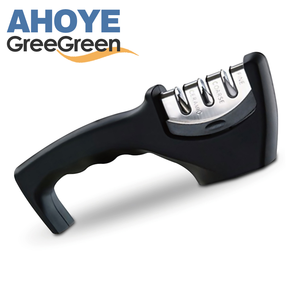 GREEGREEN 三段式磨刀器 (快)
